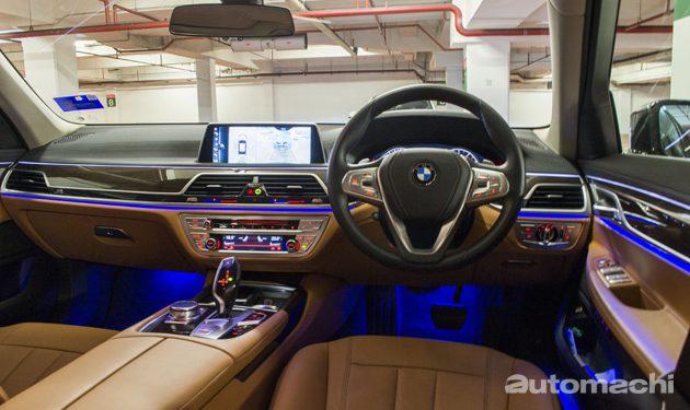 锋芒内敛,BMW 730Li奢华体验!
