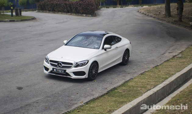 玩酷好伙伴,Mercedes-Benz C300 Coupe试驾!