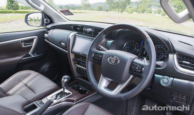 优雅的硬汉!试驾Toyota Fortuner 2.7 SRZ!