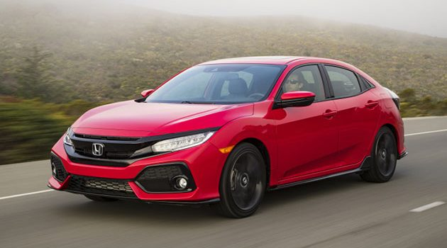 2017 Honda Civic FC Hatch 北美价格公布!