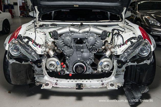 史上最强86!Toyota 86移植R35心脏!