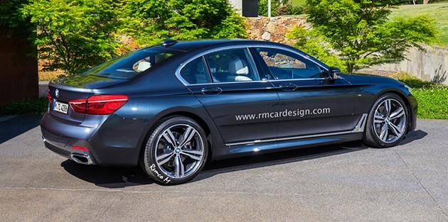 质感升级拼E Class!大改款BMW 5 Series内装曝光!
