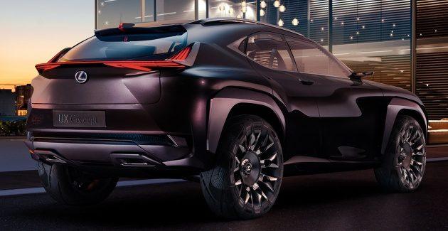 豪华版C-HR!Lexus UX Concept内饰图曝光!