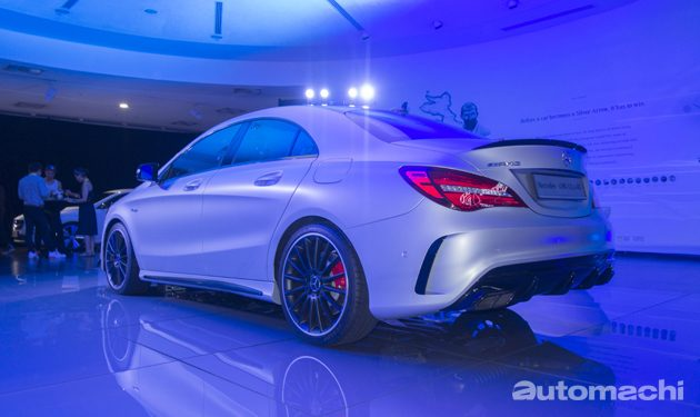 新加坡直击!小改款Mercedes-Benz CLA45发布!