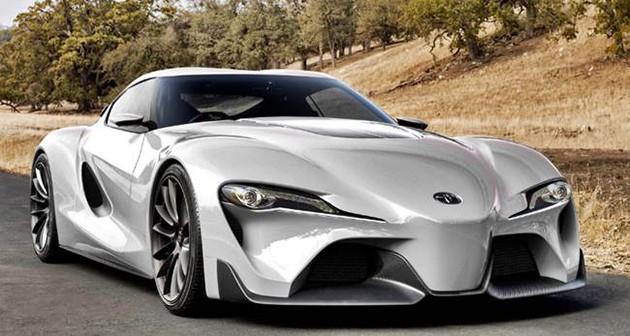 向经典致敬!全新Toyota 性能跑车正式上路!