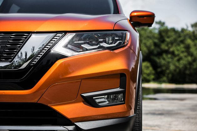 Nissan X-Trail 小改款正式发表, 全新V-Sharp家族脸!