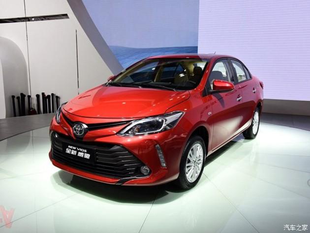 8速CVT变速箱!中国版小改款Toyota Vios登场!