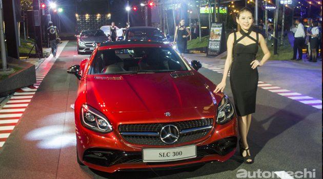 Mercedes-Benz 正式发布 C Class Cabriolet 和 SLC !