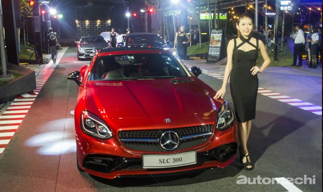 Mercedes-Benz 正式发布 C Class Cabriolet 和SLC!