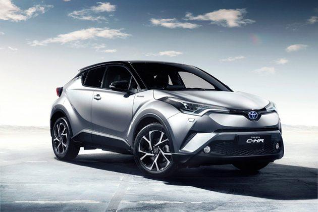 Toyota C-HR 现身新加坡官方网站!