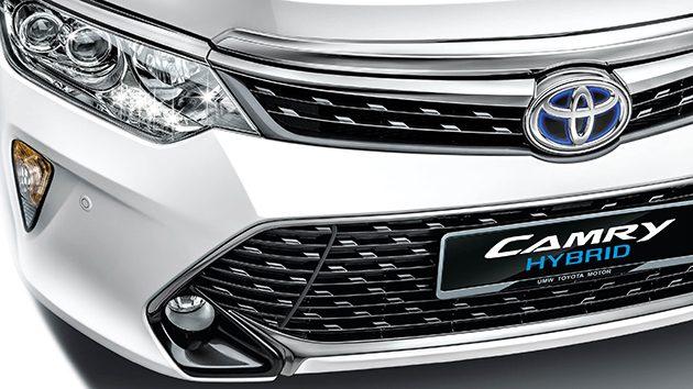 现在购买 Toyota Camry Hybrid 将可以获得8千令吉回扣!