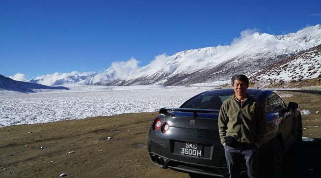 新国车主驾驶 R35 跨越中南半岛并且征服珠峰地区!
