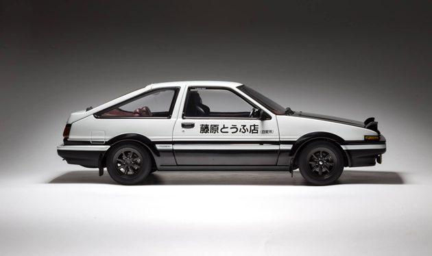 经典车款回顾:飘移神车 Toyota AE86 !