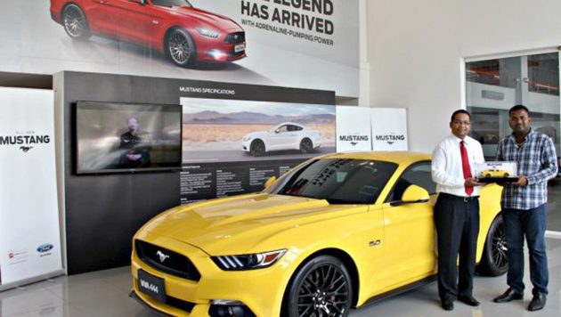 大马首位Mustang车主