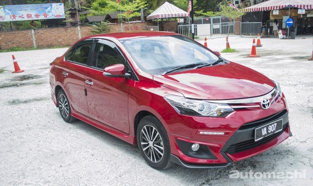 2016 Toyota Vios GX 试驾,安全稍归位!