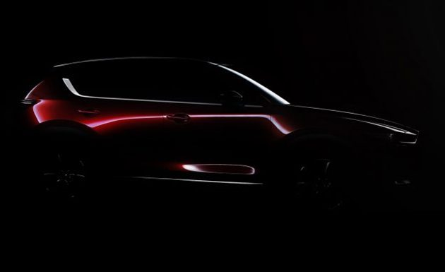 2017 Mazda CX-5 将现身洛杉矶车展!