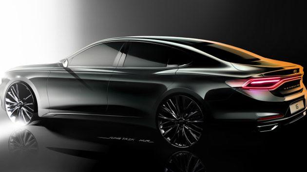 奢华韩风, 2018 Hyundai Azera 正式发表!