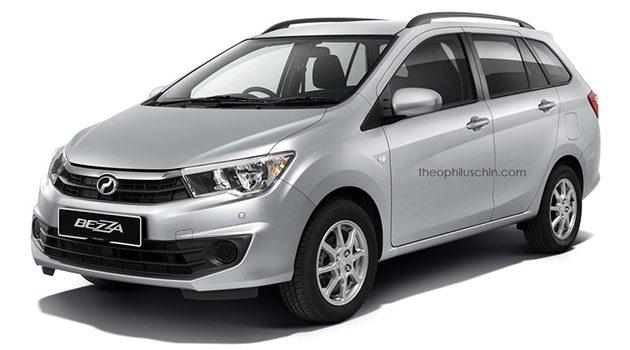 Perodua Bezza Wagon 假想图登场!