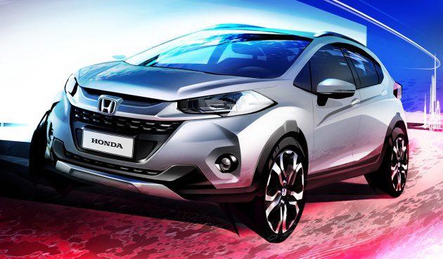发布在即! Honda WR-V 设计草图曝光!