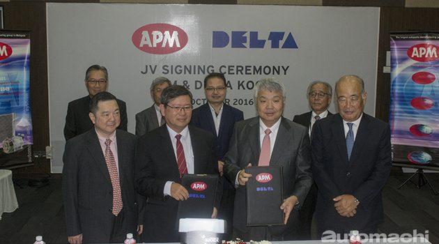 APM Delta 合资成立公司提供Mazda旗下车款部件!