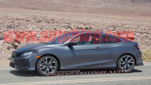 性能版将登场, Honda Civic Si 预计洛杉矶车展发布!