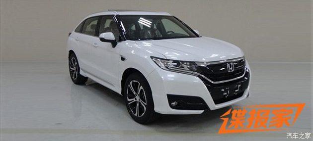 全新SUV Honda UR-V 谍照现身!