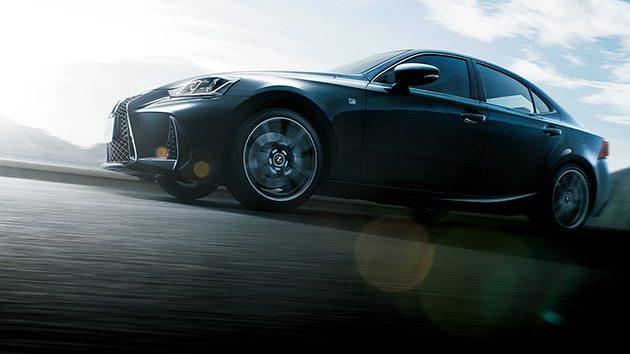 日系轿跑升级,2017 Lexus IS 正式在日本发售!