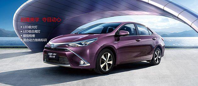 现款Toyota Levin