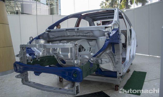 图为Perodua Bezza