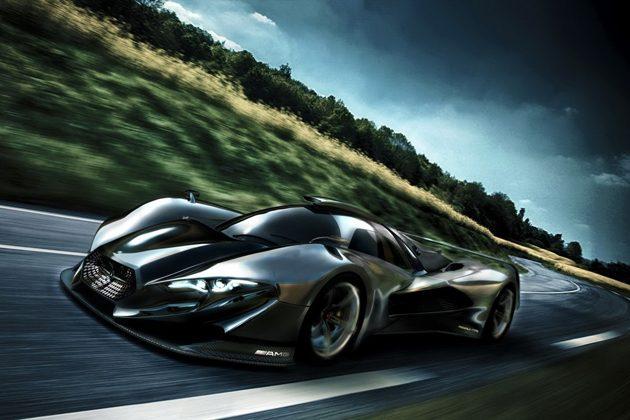 Mercedes-AMG Hypercar概念图