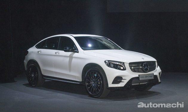 Mercedes-Benz 同时发布 GLC Coupe ,G Class 和 GLS Class!