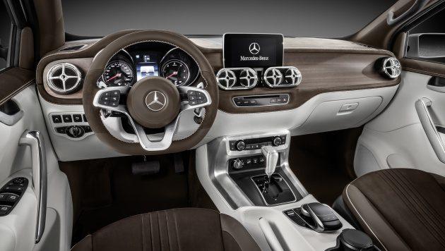Mercedes-Benz X Class 皮卡将导入我国市场!