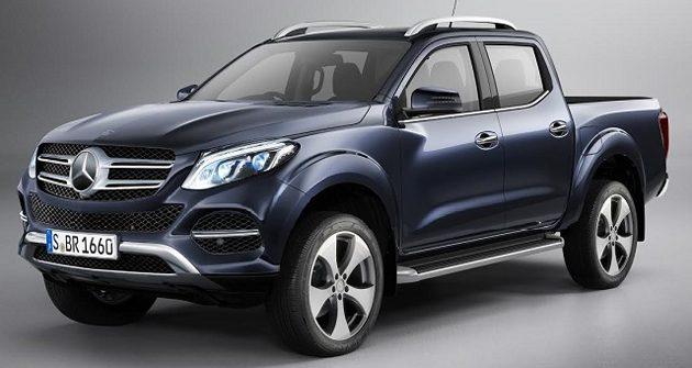 Benz Navara来了! Mercedes GLT 或将在10月25号发布!