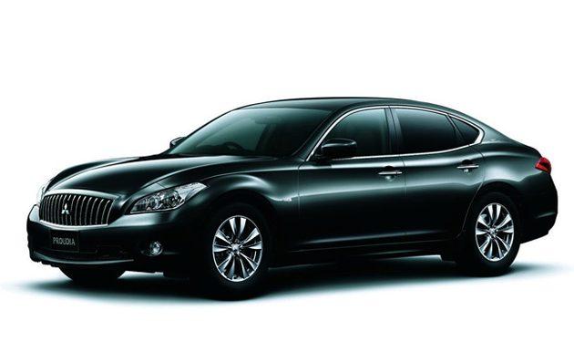 Mitsubishi的旗舰车款Proudia是来自Nissan的Fuga