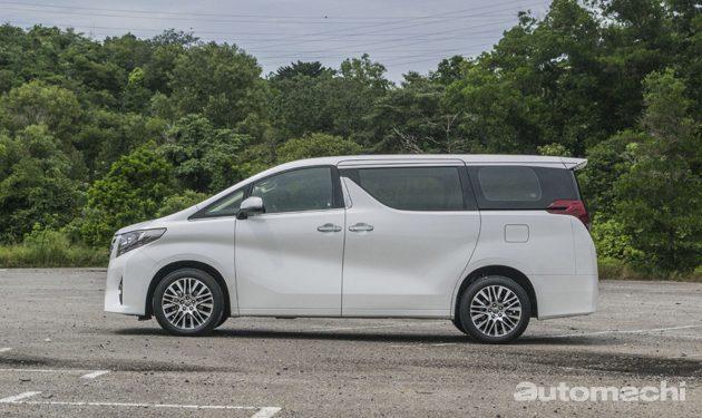 Toyota Alphard ,老板级人物的最佳座驾!