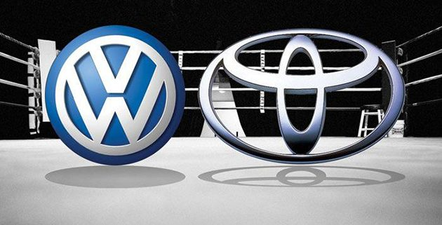 VW 第三季销量超越Toyota成为龙头!
