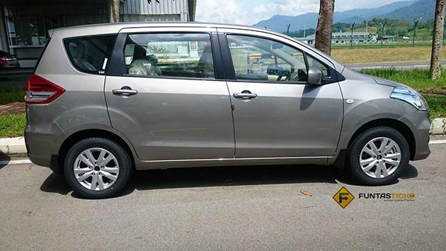 发布前最后造势, Proton Ertiga 实车现身!