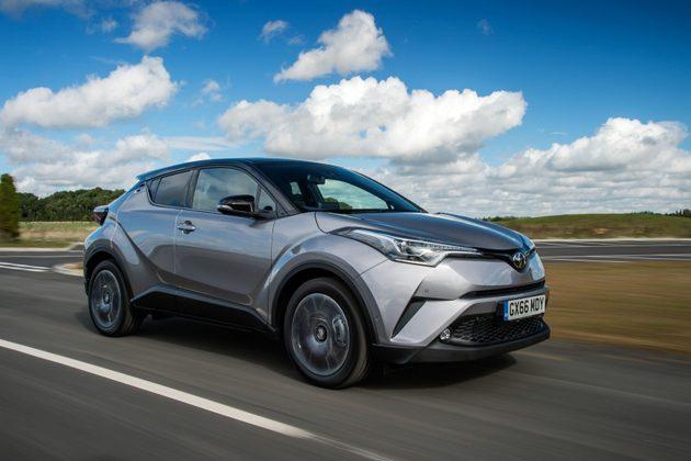Toyota公布大量 Toyota C-HR 高清图!