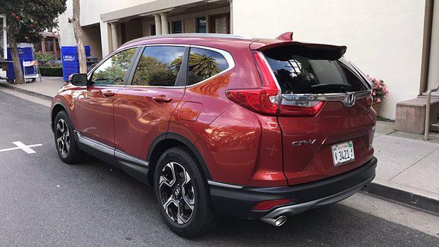 涡轮新势力, 2017 Honda CR-V 实车照!
