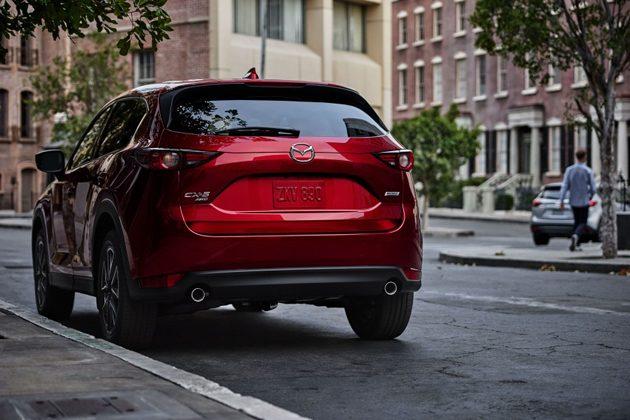 2017 Mazda CX-5将使用全新的 Soul Red Crystal 配色!