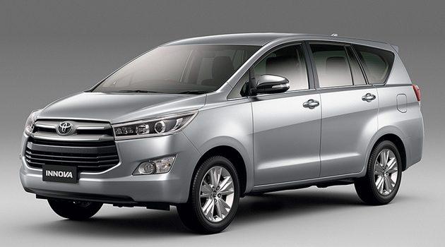2017 Toyota Innova 预计价格和细节正式公布!