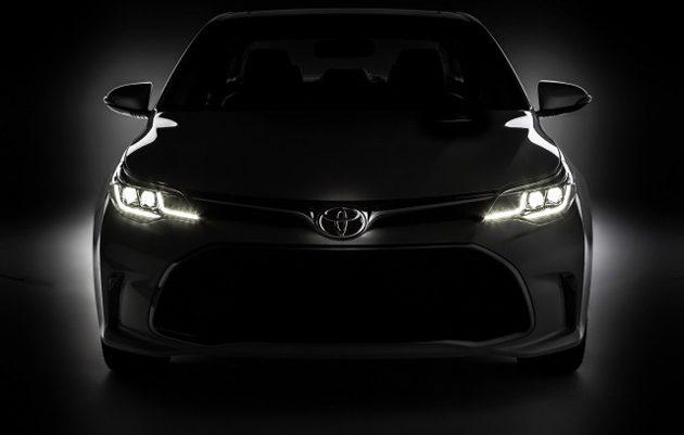 2017 Toyota Camry 将在2017年中旬进入亚洲市场!
