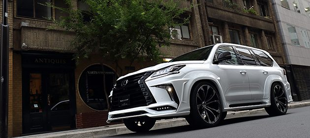 白武士! Artisan Spirits Lexus LX570 Black Label 现身 !
