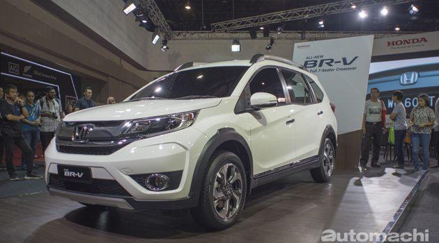 七人座SUV Honda BR-V 大马首秀!