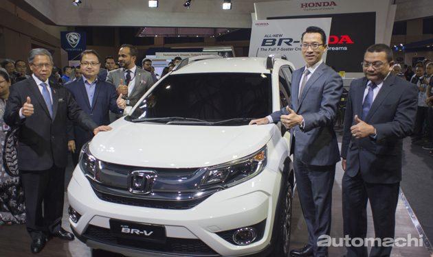 七人座SUV Honda BR-V大马首秀!