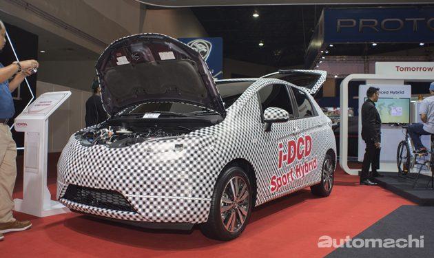 Honda Jazz Hybrid现身大马!