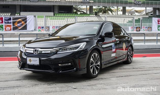 Honda Accord Hybrid 正式现身大马!