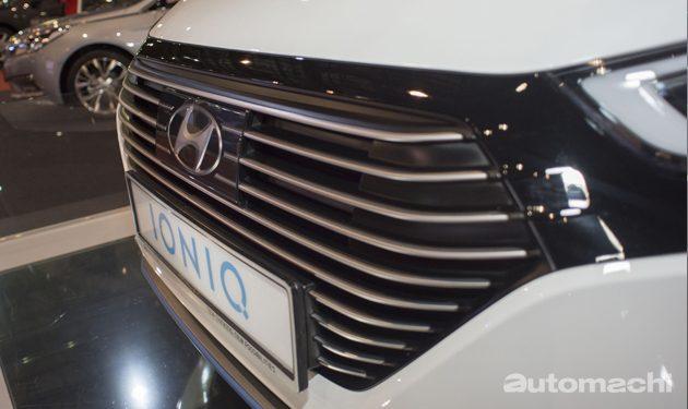 超丰富! 2017 Hyundai Ioniq 规格曝光!