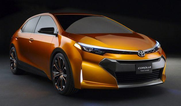图为Corolla Concept