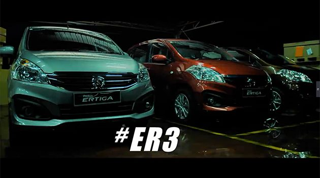 #ER3! Proton Ertiga 官方预告释出!